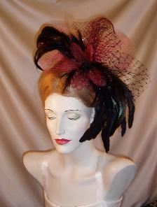 coque feather headpiece