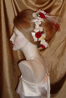 evening headpiece millinery veiling