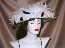 feathered hat millinery